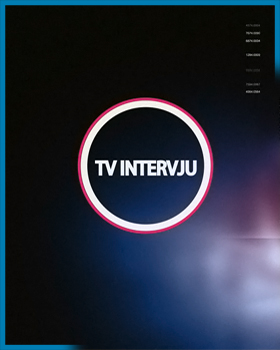 TV INTERVJU
