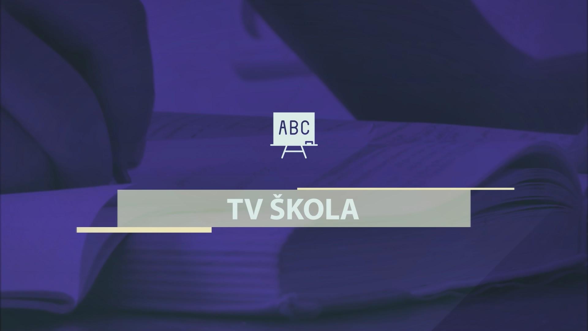 TV ŠKOLA, obrazovni program