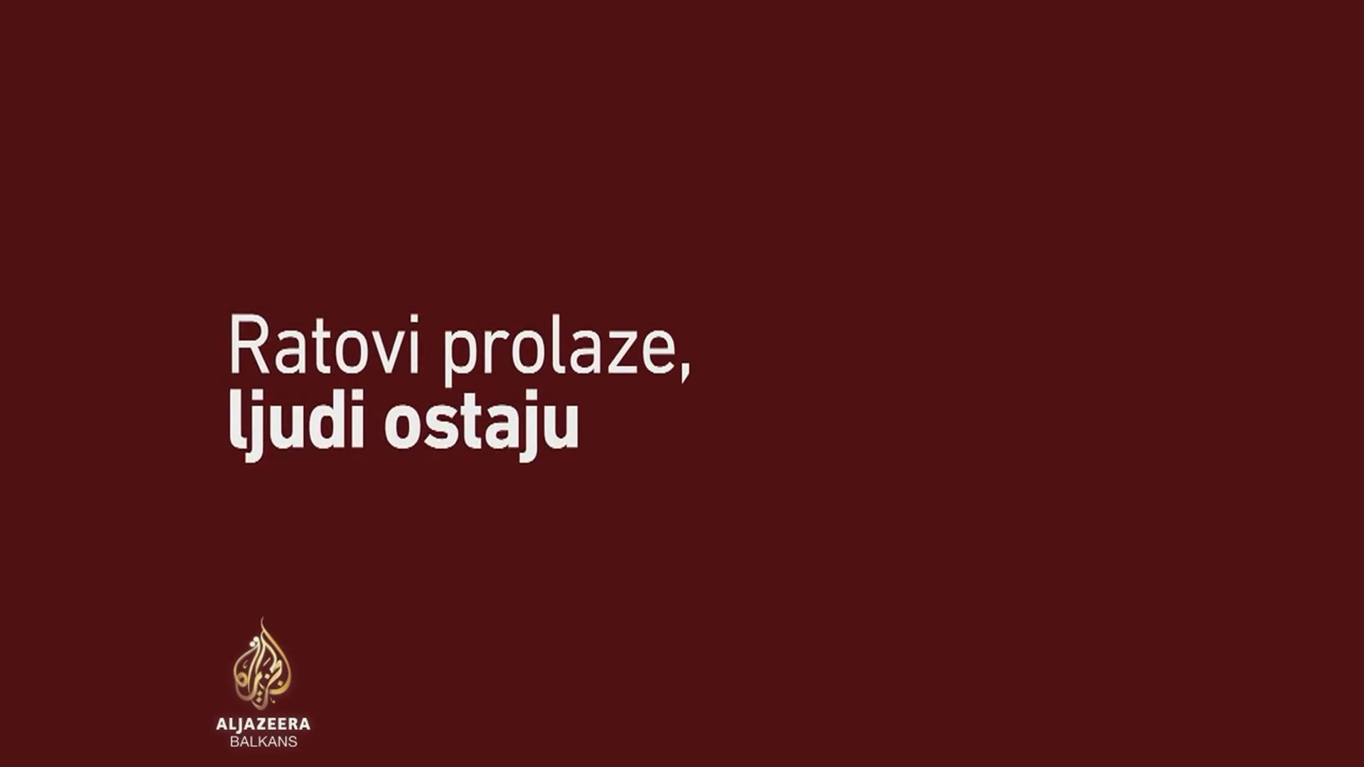 RATOVI PROLAZE, LJUDI OSTAJU, dokumentarni film o Đorđu Balaševiću