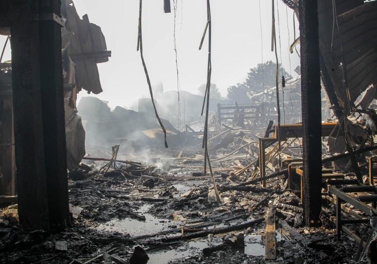Tvornica izgorjela za sat vremena, šteta nekoliko desetina miliona eura