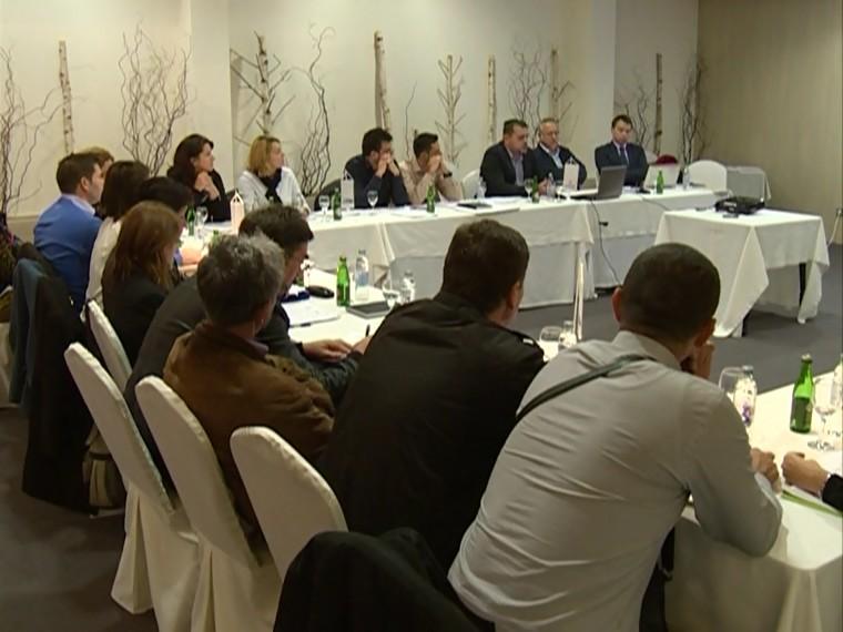 Brojni učesnici radionice u Bihaću