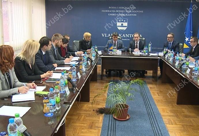 Zajednička sjednica Vlade USK i delegacije Federalne vlade