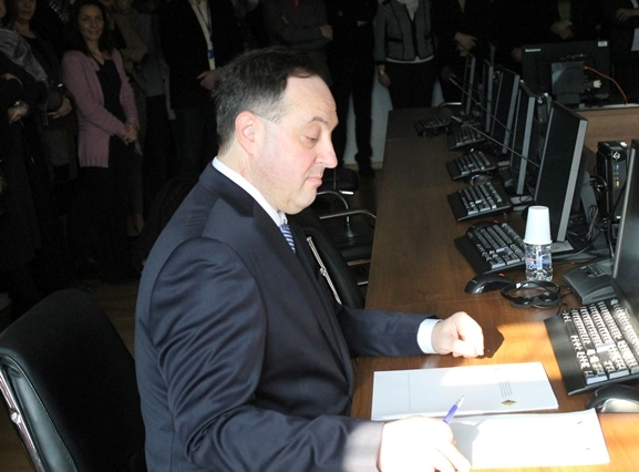 Sudija Debevec položio svečanu zakletvu