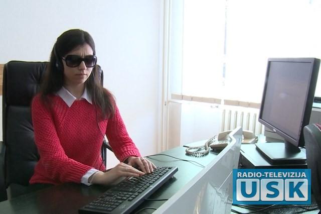 Sandra na pripravničkom radnom mjestu
