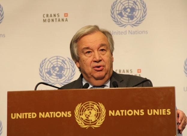 Guterres pozvao sve strane uključene u konflikte u Siriji da podrže mirovne procese