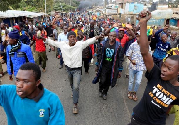 Krvavi protesti u Keniji