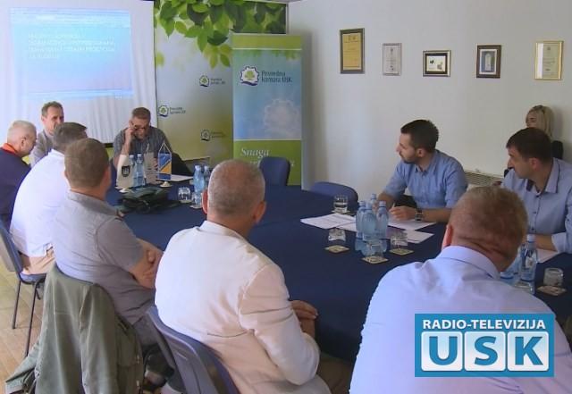 Učesnici javne rasprave u Bihaću