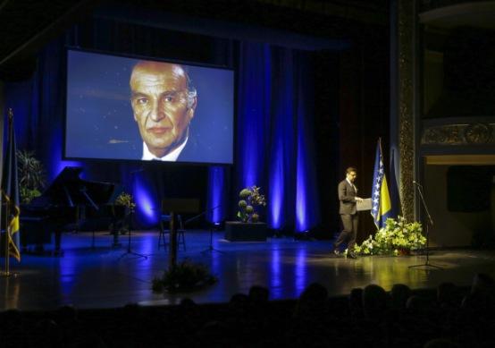 Akademiji prisustvovale brojne ličnosti iz političkog i javnog života BiH