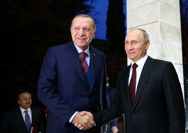 Erdogan i Putin sastali se u Sočiju