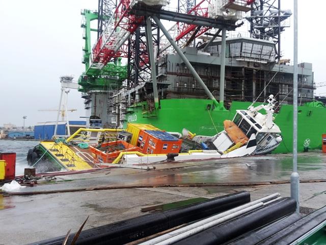 U pomorskoj nesreći nije bilo stradalih