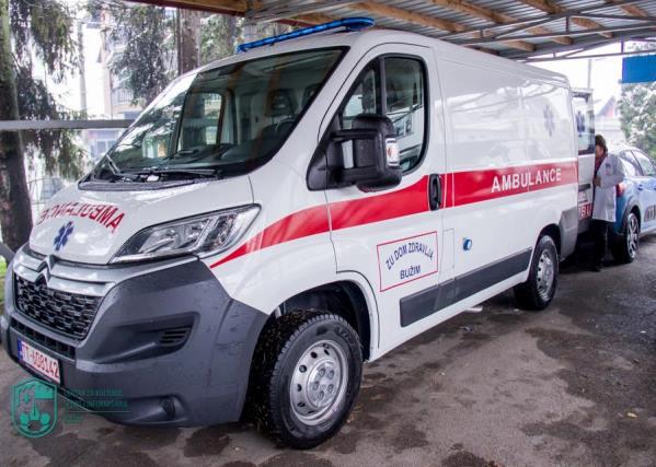 Novo sanitetsko vozilo Doma zdravlja