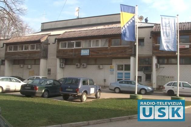 Zgrada u Bihaću u kojoj je smještena RTVUSK