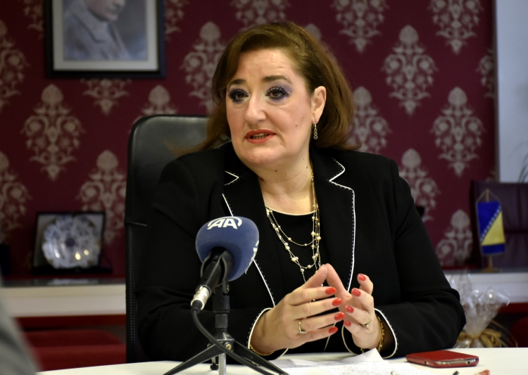 Zamjenica predsjedavajućeg Zajedničke komisije za evropske integracije PS BiH Nermina Kapetanović