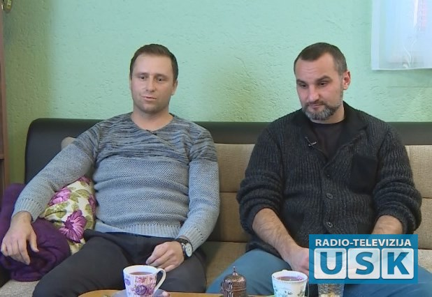 Ervin Džalalagić i donator Hasan Semanić