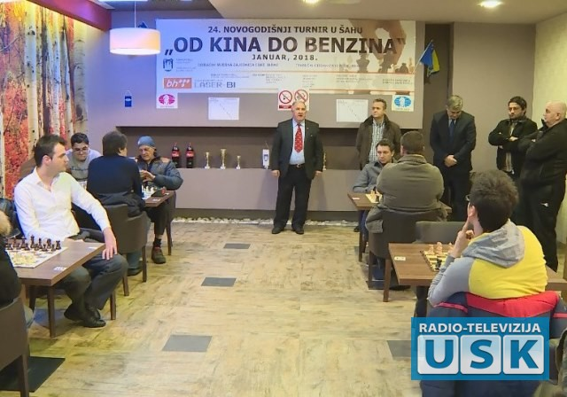 Turnir je otvorio gradonačelnik Bihaća Šuhret Fazlić