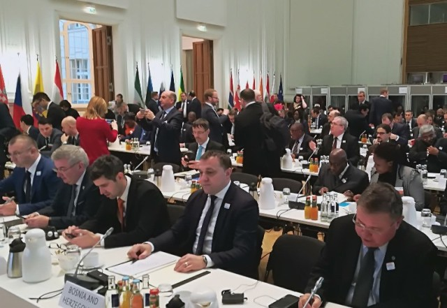 MINISTAR DEDIĆ NA GLOBALNOM SAMITU MINISTARA POLJOPRIVREDE U BERLINU