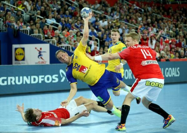 Rukometaši Švedske u finalu Evropskog prvenstva