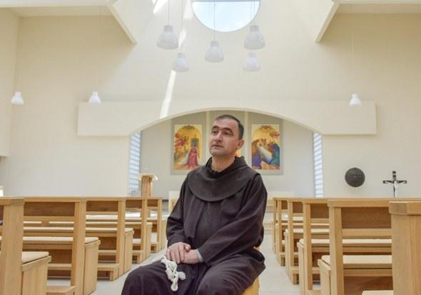 fra Niko Josić, gvardijan i župnik Franjevačkog samostana u Dubravama kod Brčkog