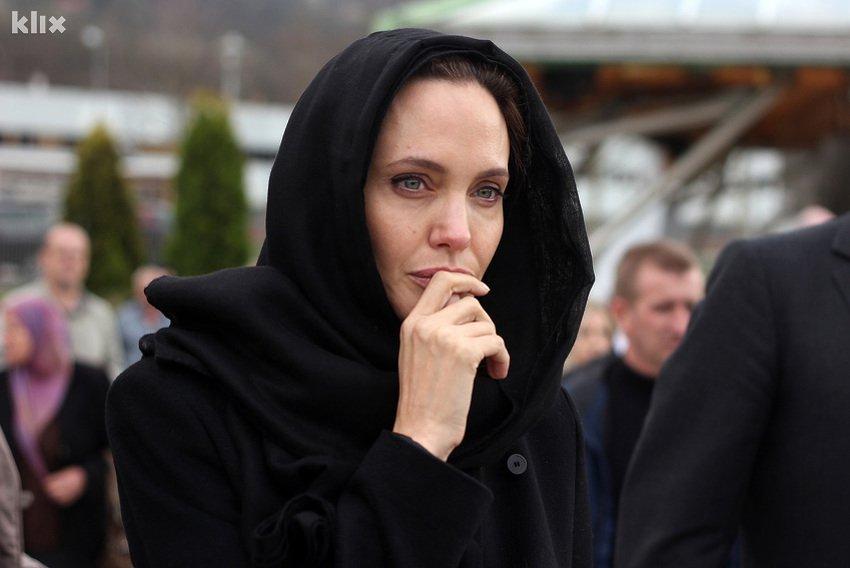 Slavna glumica i specijalna izaslanica UN-a za izbjeglice Angelina Jolie