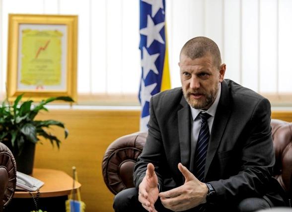 Ismir Jusko, ministar komunikacija i prometa BiH