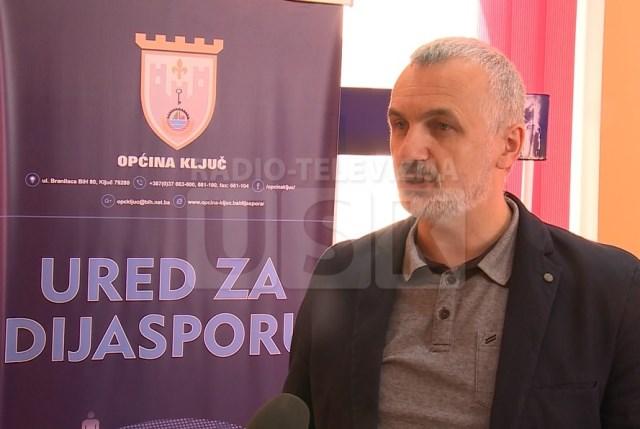Amir Hadžić iz Ureda za dijasporu Općine Ključ