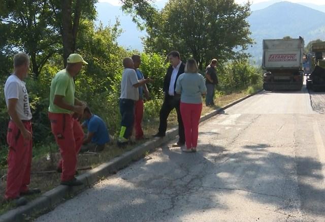 Čelnici općine posjetili radilište