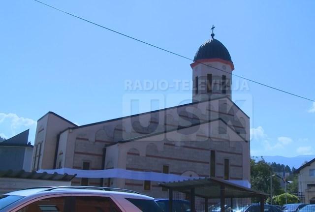 Osvečten hram Svete trojice