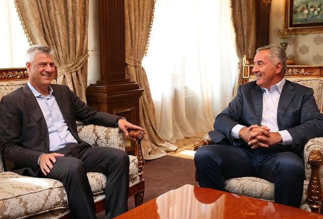 Susret Đukanovića i Tačija
