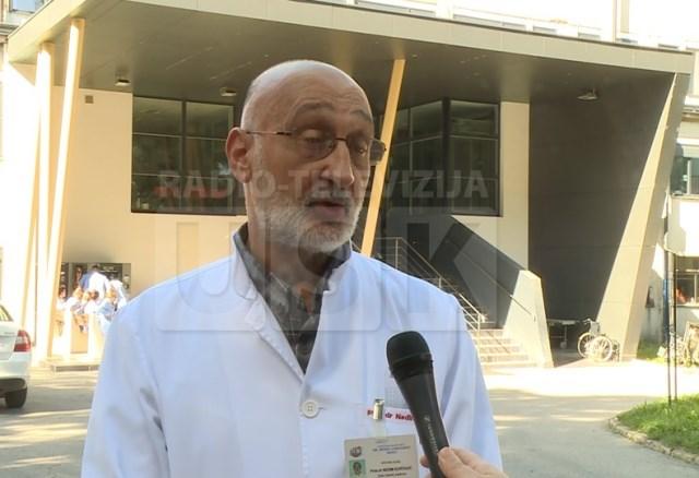 Dr. Nedim Kurtagić, predsjednik Sindikata ljekara USK-a.