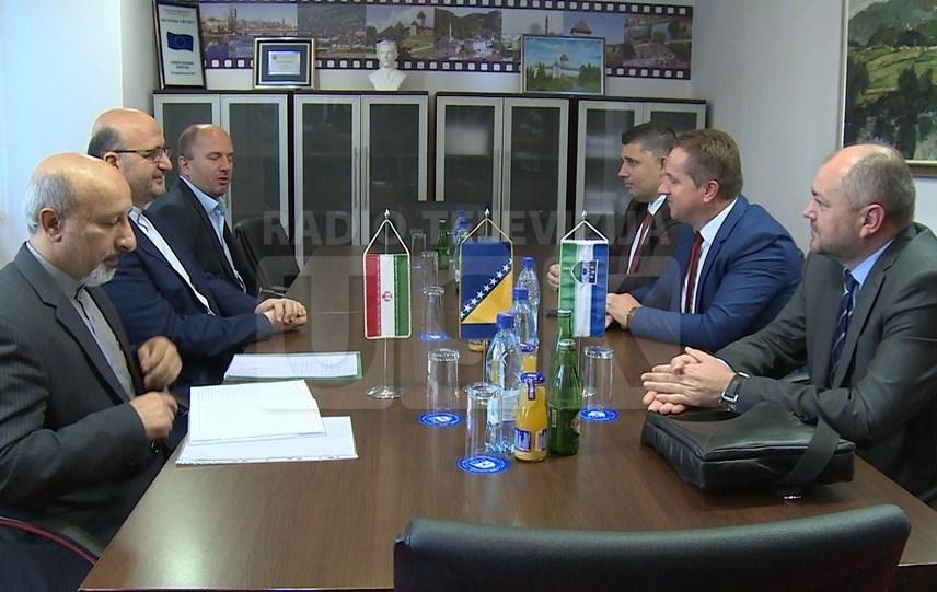 Iranski ambasador razgovarao s premijerom  Rošićem i gradonačelnikom Bihaća