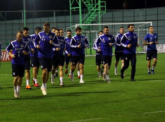 Trening održan na stadionu Caykur Rizespor u Rizeu