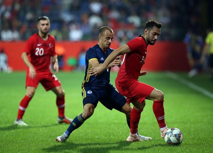 Nogometna reprezentacija BiH remizirala protiv selekcije Turske