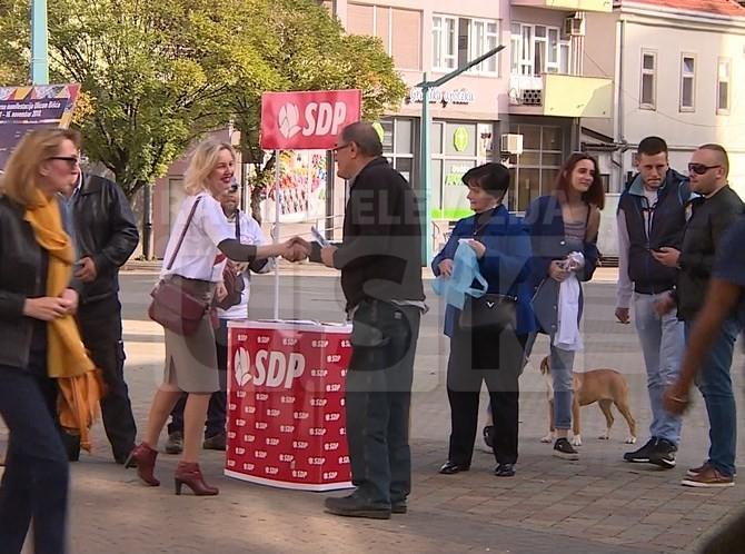Akcija Foruma Žena SDP-a u Bihaću