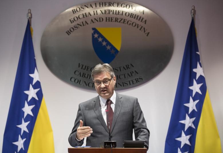 Denis Zvizdić, predsjedavajući Vijeća ministara BiH