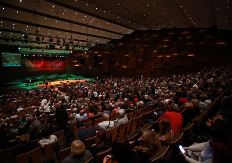 U Velikoj dvorani više od 1.500 posjetilaca
