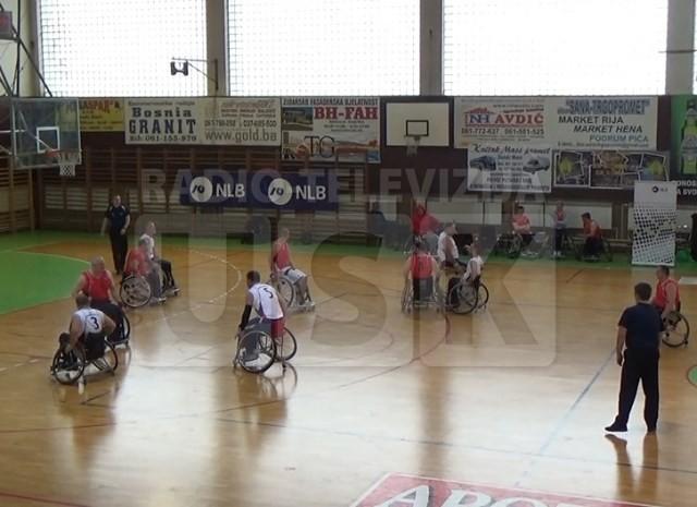 Počela regionalna liga košarke u kolicima