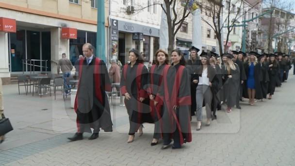 EKONOMSKI FAKULTET PROMOVISAO MAGISTRANTE I DIPLOMANTE