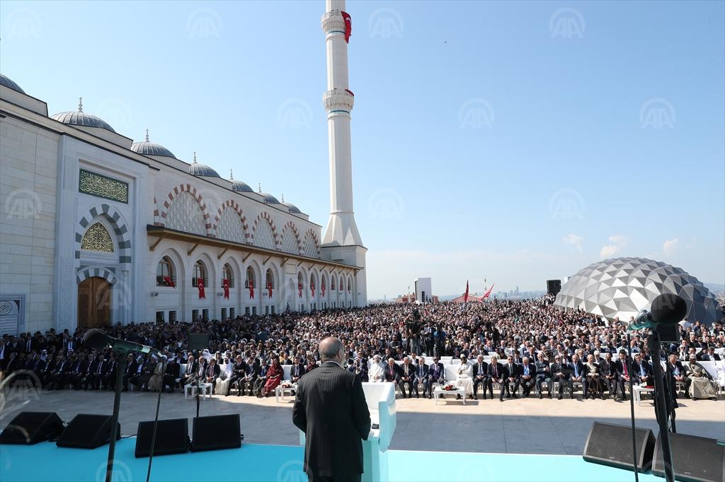 OTVORENA NAJVEĆA NOVOIZGRAĐENA DŽAMIJA U TURSKOJ: PRISUSTVOVALI IZETBEGOVIĆ I DŽAFEROVIĆ