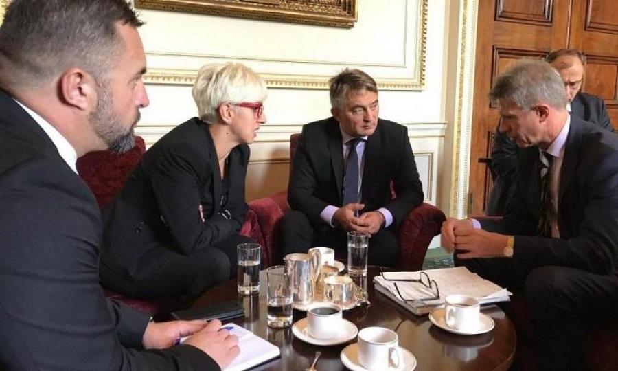 ŽELJKO KOMŠIĆ: VELIKA BRITANIJA DAJE PUNU PODRŠKU PUTU BIH PREMA NATO-U