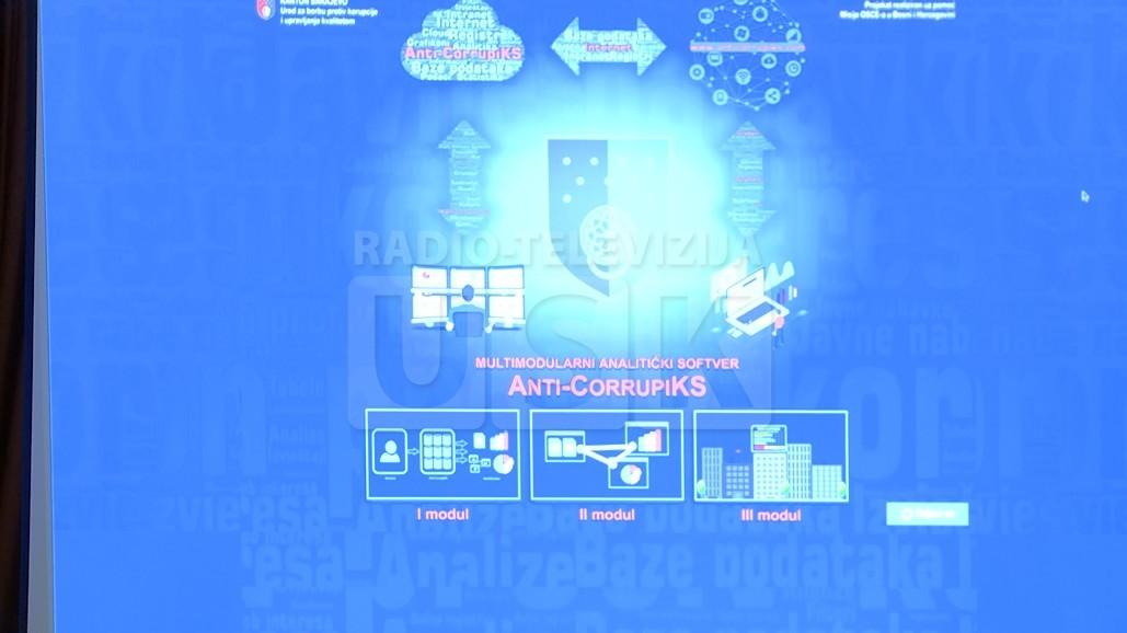 BOBRA PROTIV KORUPCIJE - PREZENTIRAN ANTIKORUPCIONI INFORMACIONI SISTEM