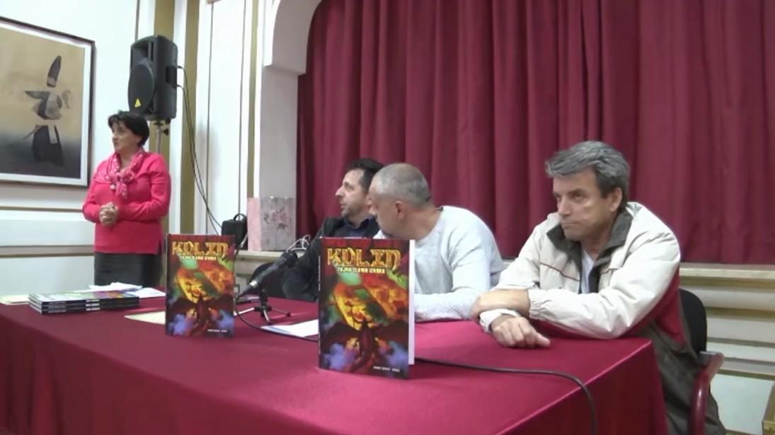 BOSANSKA KRUPA: PREDSTAVLJANJEM STRIP ALBUMA NAJAVLJENA TRILOGIJA KULIN - TAJNA SLANIH IZVORA