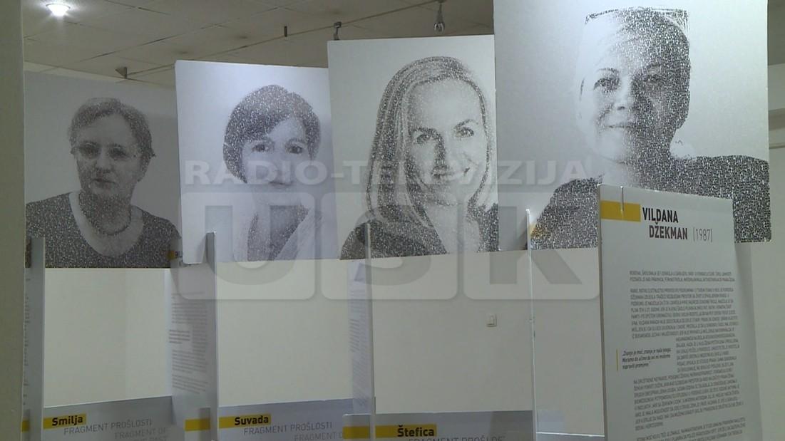 """GRADSKA GALERIJA BIHAĆ: OTVORENA IZLOŽBA """"MIR SA ŽENSKIM LICEM"""""""