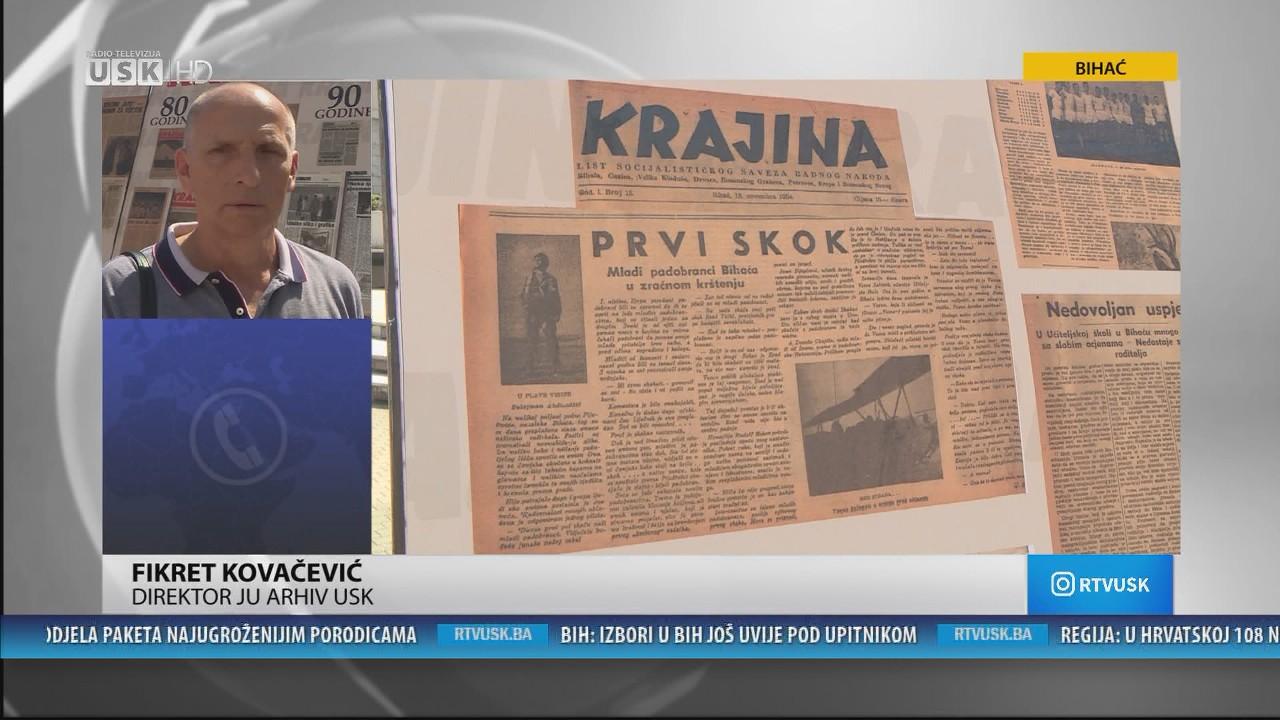 DNEVNA DOZA ZABAVE-GOST:FIKRET KOVAČEVIĆ, DIREKTOR ARHIVA USK-A