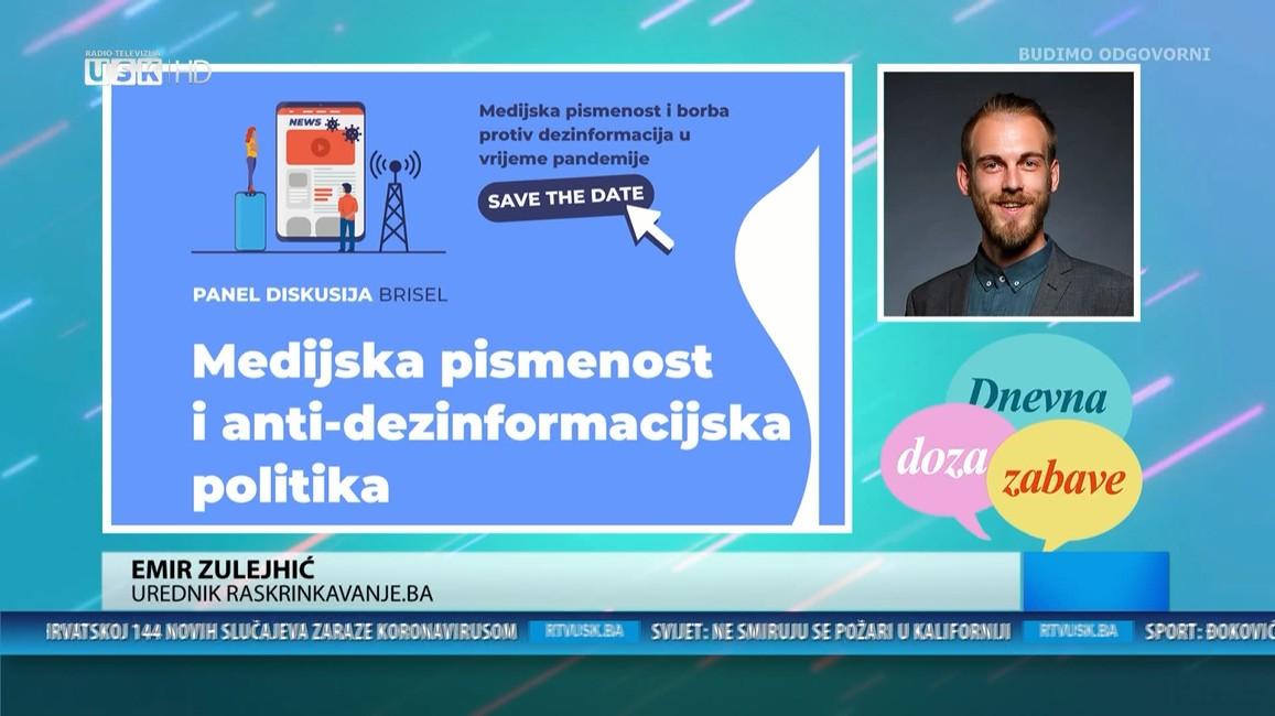 DNEVNA DOZA ZABAVE - GOST EMIR ZULEJHIĆ