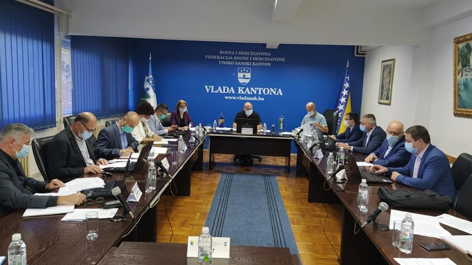 183. SJEDNICA VLADE UNSKO-SANSKOG KANTONA