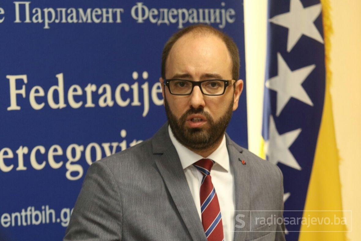 GOST DNEVNIKA: DAMIR MAŠIĆ, PREDSJEDNIK KOMISIJE ZA SIGURNOST PREDSTAVNIČKOG DOMA PARLAMENTA FBIH