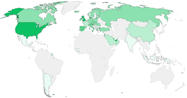 BLOOMBERG MAPA VAKCINACIJE: PROTIV KORONAVIRUSA DO SADA VAKCINISANO 63 MILIONA LJUDI, BIH IZVAN SVIH SVJETSKIH TOKOVA