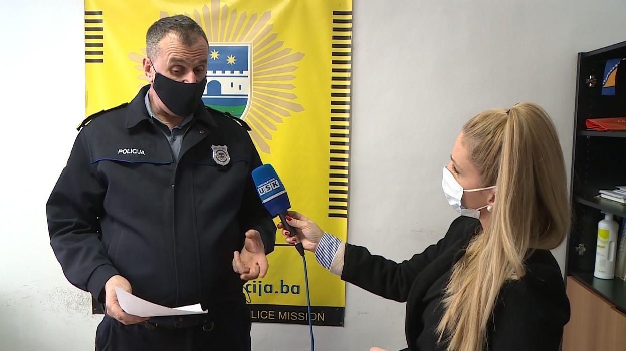 VEČERAS U TV DNEVNIKU: O AKTUELNIM DOGAĐAJIMA GOVORI ALE ŠILJDEDIĆ, PORTPAROL UPRAVE POLICIJE USK