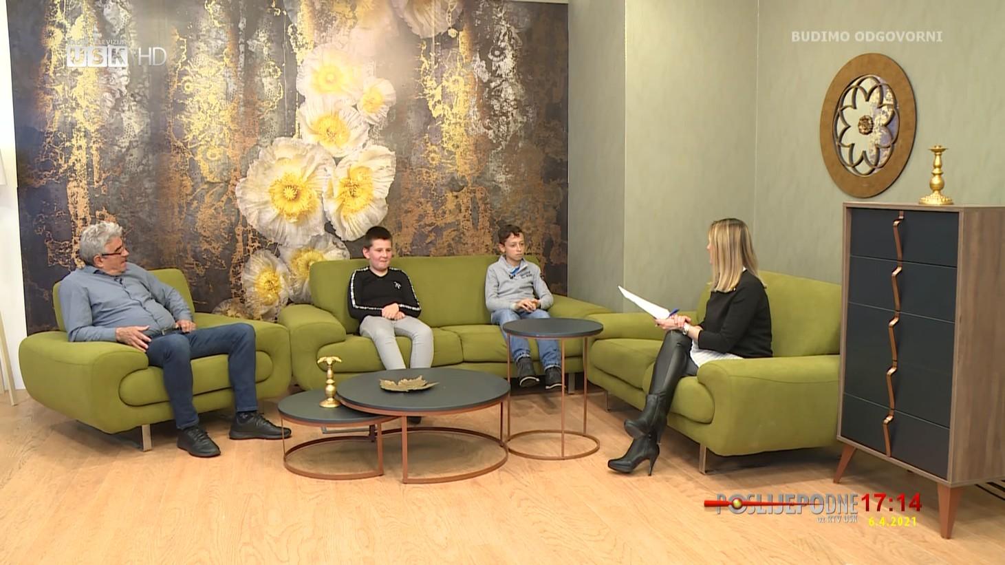 POSLIJEPODNE UZ RTV USK: GOSTI ALDIN ŠEHIĆ, MUHAMED RAMIĆ I KASIM SEFEROVIĆ