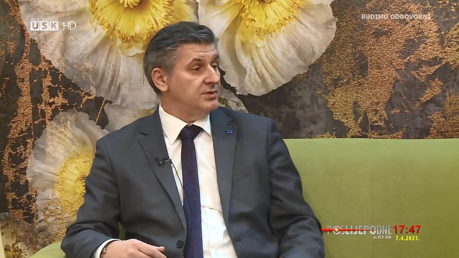 """POSLIJEPODNE UZ RTVUSK -GOST: AMARILDO MULIĆ, DIREKTOR JP """"NACIONALNI PARK UNA"""""""